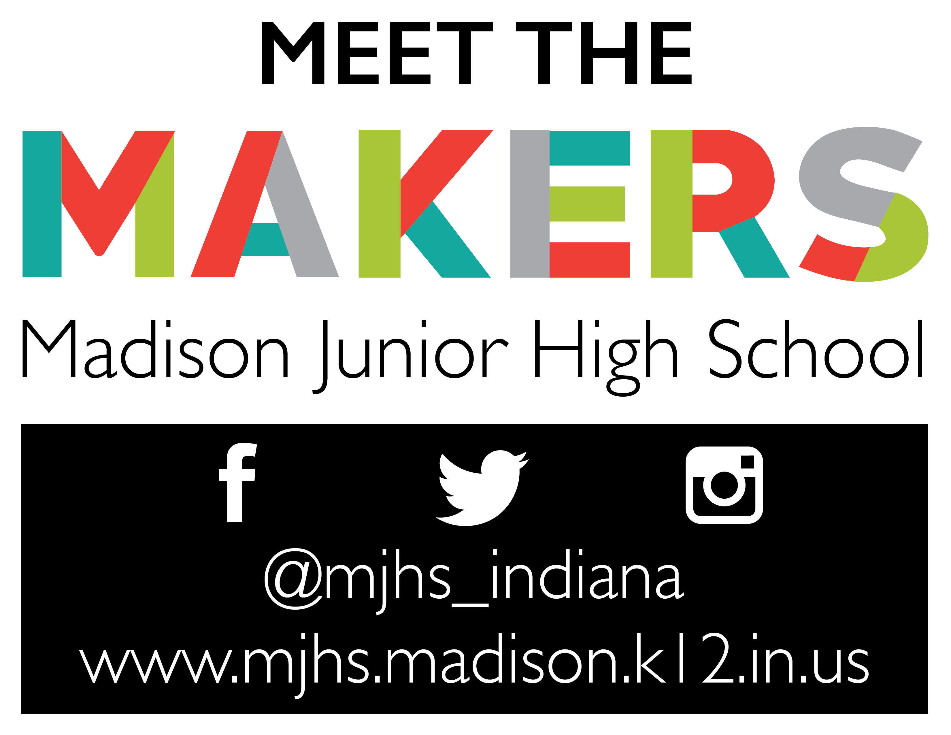 Meet the Makers Signage 01